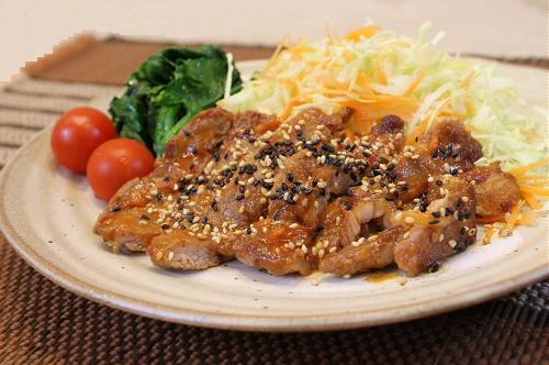 豚肉のピリ辛味噌焼きレシピ