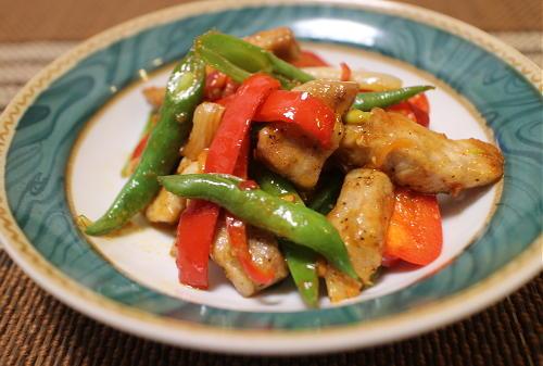 今日のキムチ料理レシピ:豚ロース肉とキムチのオイスターソース炒め