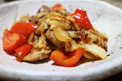 今日のキムチレシピ:豚肉とキムチの甘酢炒め