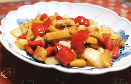 豚肉と大根キムチのオイスターソース炒めレシピ