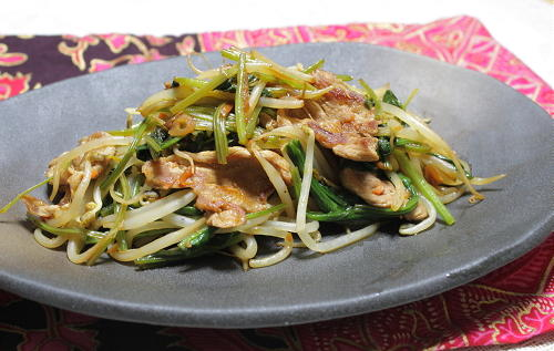 豚肉と野菜のピリ辛炒めレシピ
