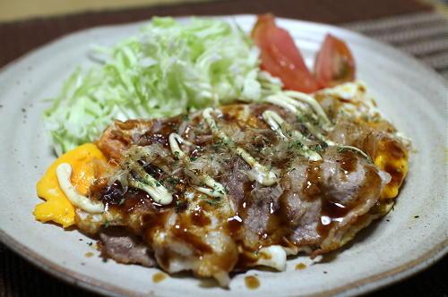 今日のキムチ料理レシピ:豚玉キムチ