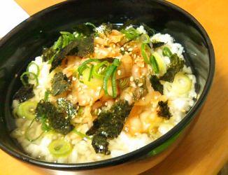 今日のキムチ料理レシピ: キムチのシンプル茶漬け