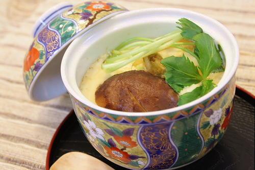 今日のキムチ料理レシピ:キムチ茶碗蒸し