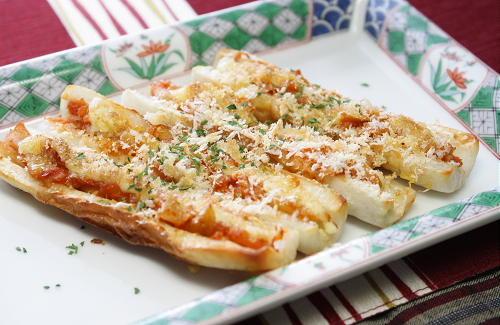 今日のキムチ料理レシピ:竹輪のキムチ焼き