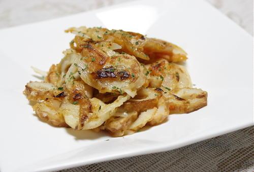 今日のキムチ料理レシピ:ちくわとキムチのお焼き