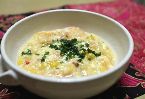 今日のキムチ料理レシピ:とろとろキムチ卵