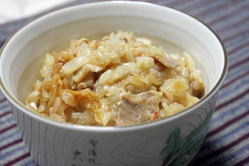 今日のキムチ料理レシピ:ちまき風大根とキムチの炊き込みご飯