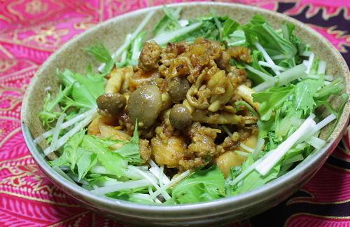 大根キムチのドライカレーレシピ