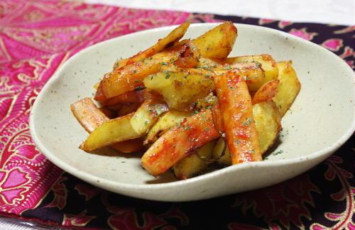 ジャガイモと大根キムチのオイスターソース炒めレシピ