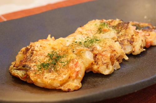 今日のキムチ料理レシピ:大根とキムチのおやき