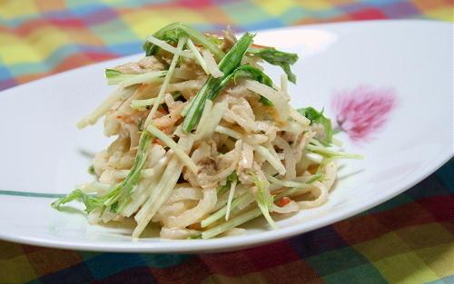 大根とツナのピリ辛サラダレシピ