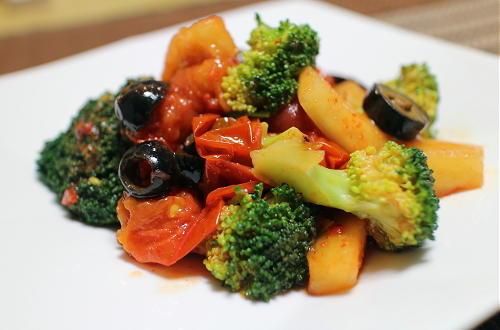 ブロッコリーと大根キムチのマリネレシピ