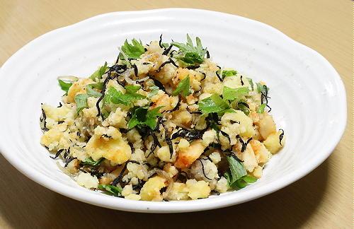 大根キムチの和風ポテトサラダレシピ