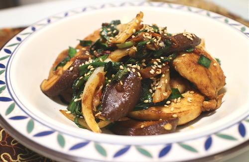 今日のキムチレシピ:キムチタッカルビ