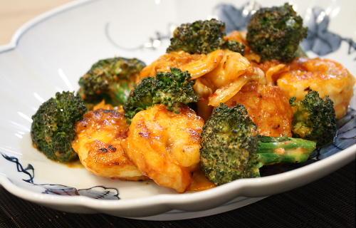 今日のキムチ料理レシピ:キムチえびマヨ