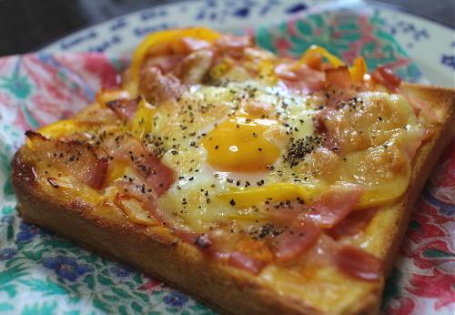 今日のキムチ料理レシピ:キムチエッグトースト