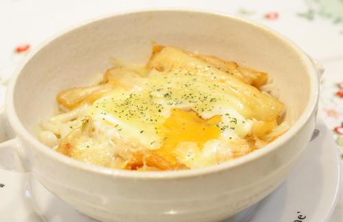 今日のキムチ料理レシピ:えのきとキムチのレンジ蒸し