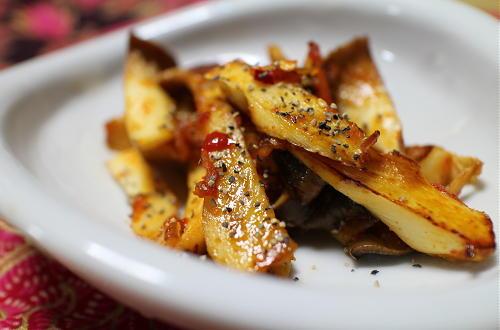 エリンギのピリ辛炒めレシピ