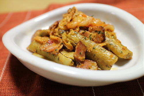 今日のキムチレシピ:ごぼうとキムチのクリーム炒め