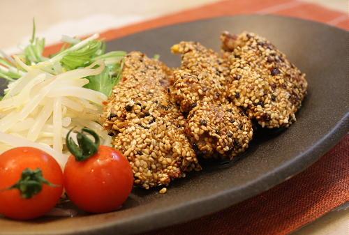 今日のキムチ料理レシピ: 金ごま唐辛子かつ