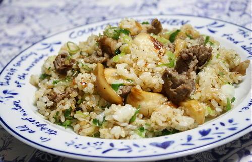 今日のキムチ料理レシピ:牛キムチチャーハン
