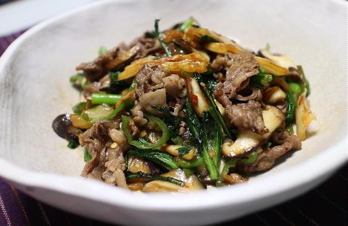 今日のキムチレシピ:牛肉とキムチのシンプル炒め