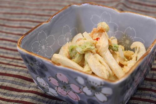 白菜のキムマヨ和えレシピ