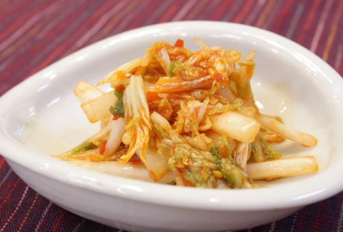簡単白菜キムチレシピ