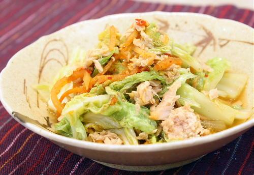 白菜とキムチのピリ辛煮レシピ