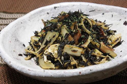 今日のキムチ料理レシピ: ひじきと切り干し大根のキムマヨサラダ
