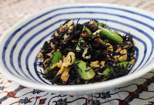 今日のキムチ料理レシピ:キムチ入りひじき煮