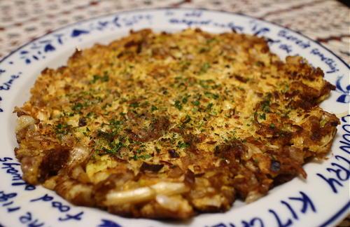 今日のキムチ料理レシピ:ひき肉とキムチの卵焼き