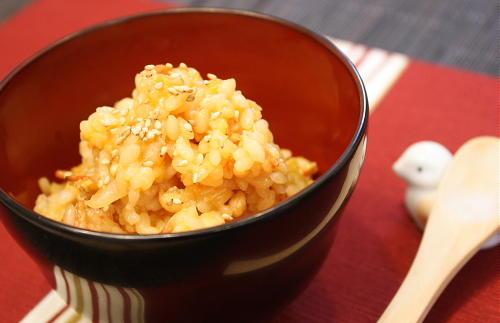 今日のキムチ料理レシピ:桜海老と生姜のキムチリゾット