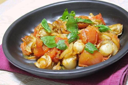 今日のキムチ料理レシピ:ホタテとキムチのバター焼き