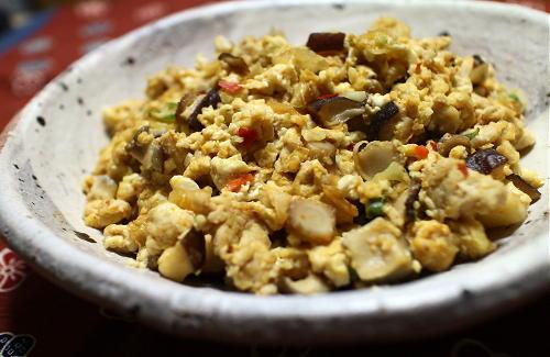 今日のキムチレシピ:キムチ煎り豆腐