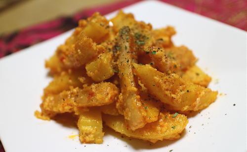 ジャガイモと大根キムチのカルボナーラ風レシピ
