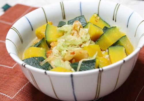 今日のキムチ料理レシピ:南瓜とキムチの味噌スープご飯