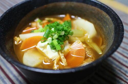 今日のキムチ料理レシピ:カブのキムチ汁