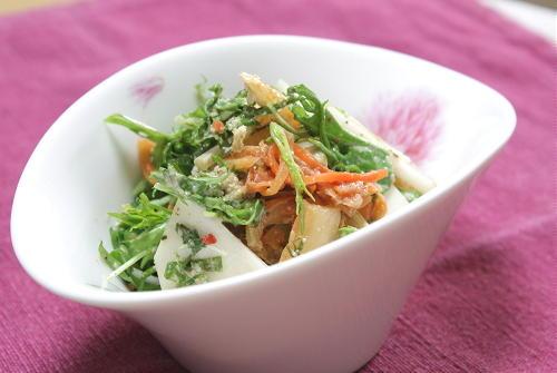 今日のキムチ料理レシピ:カブのキムチサラダ