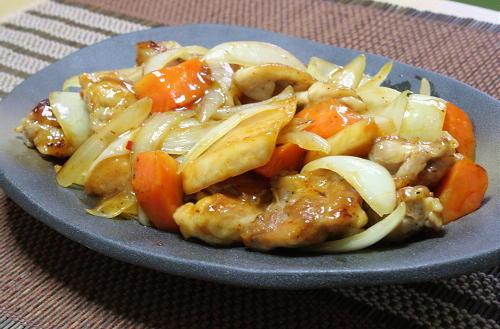 今日のキムチ料理レシピ:鶏肉と特選カクテキの甘酢あん
