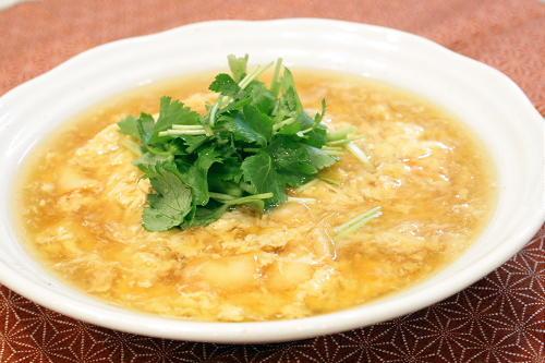 今日のキムチ料理レシピ:ふわふわキムチかに玉
