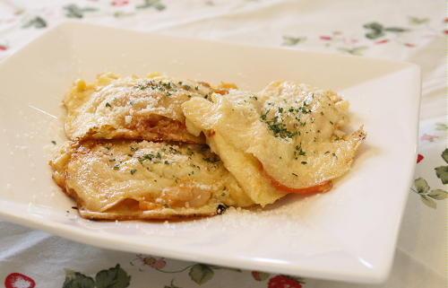 今日のキムチ料理レシピ:キムチピカタ