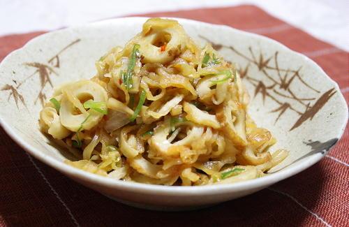今日のキムチ料理レシピ:切り干し大根と竹輪のピリ辛煮