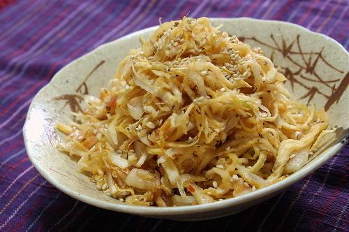 今日のキムチ料理レシピ:切り干し大根とキムチのシンプル炒め