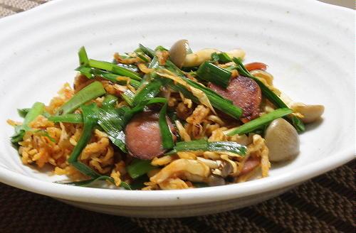 今日のキムチ料理レシピ:切り干し大根のピリ辛炒め