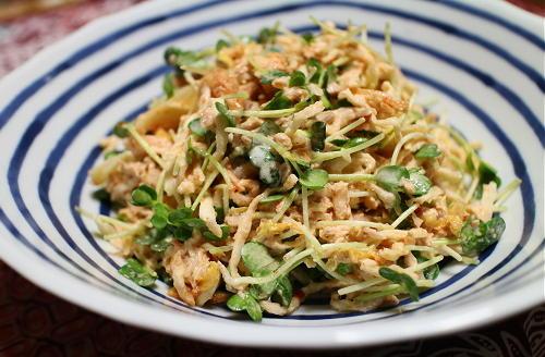 今日のキムチ料理レシピ:切り干し大根のキムチツナサラダ