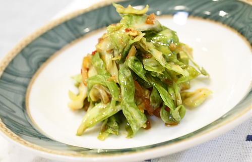 ピリ辛キャベツサラダレシピ