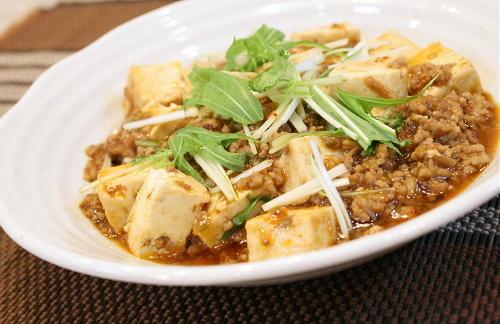 今日のキムチ料理:麻婆豆腐レシピ