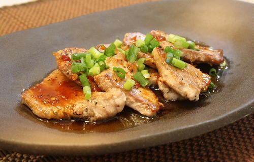 マグロのピリ辛ステーキレシピ